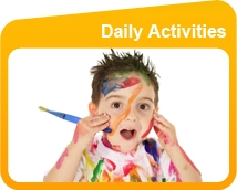 Daily Activities at The Hollies Daycare Nursery