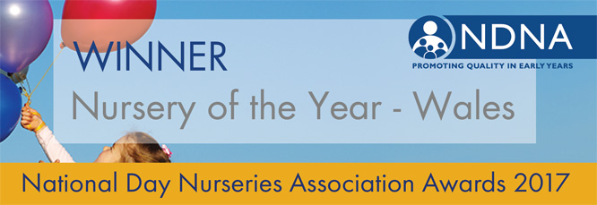 Shortlisted for Nursery of the Year - Wales 2017